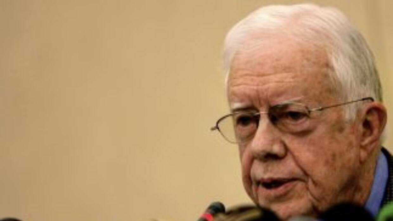 El ex presidente de EU, Jimmy Carter.