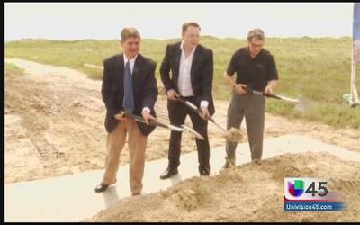 Inicia construcción de nueva base espacial en el Sur de Texas