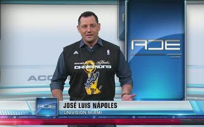 José Luis Nápoles, de Univision Miami, cumple su palabra
