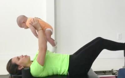 Lindsay Casinelli se pone en forma y nos ensenó su rutina de ejercicios