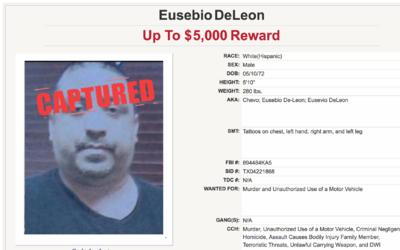 El perfil de Eusebio Deleon entre los 10 fugitivos más buscados d...
