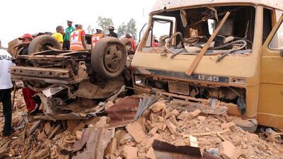 Explosión en Damaturu, Nigeria