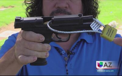 Rifle disparado accidentalmente lesiona a niño de tres años
