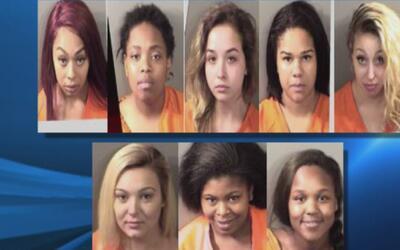 Arrestan a 11 personas vinculadas a prostitución y tráfico humano en Denton