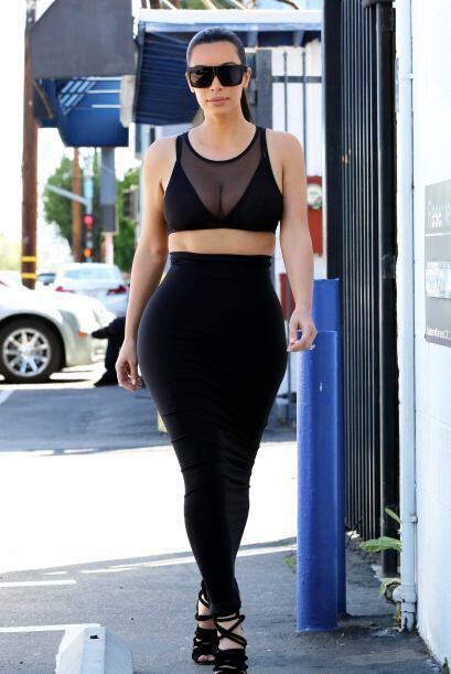 Esta Kardashian es como un imán actual para la gente.