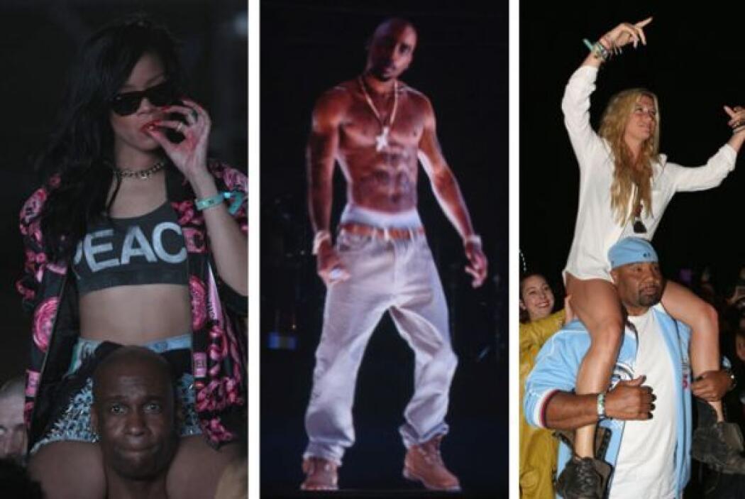 ¿Qué estaba fumando Rihanna en Coachella? | Dr. Dr, Snoop Dogg, 50 Cent,...