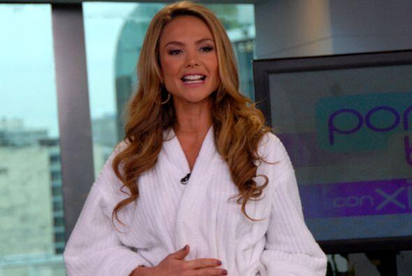 Lista para su regreso a Miami, Ximena Córdoba nos regaló su mejor sonris...