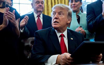 Los momentos clave del primer mes de la administración Trump