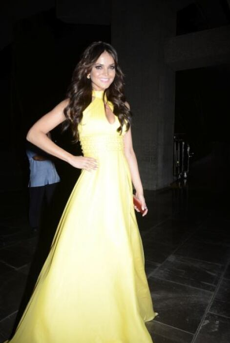 Marisol González fue una de las presentadoras de la noche.