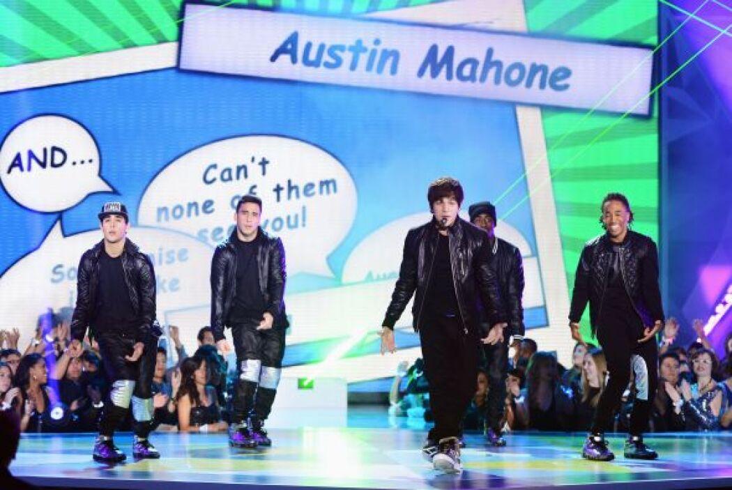 Austin Mahonie, el nuevo fenómeno musical se robó el 'show' en el teatro...