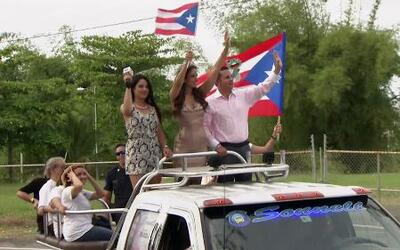 Aleyda Ortiz regresó a su tierra como toda una reina