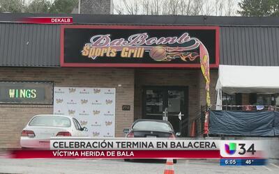 Celebración del Súper Tazón en DeKalb termina en balacera