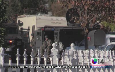 Autoridades rodean una zona residencial de San José para buscar a uno de...
