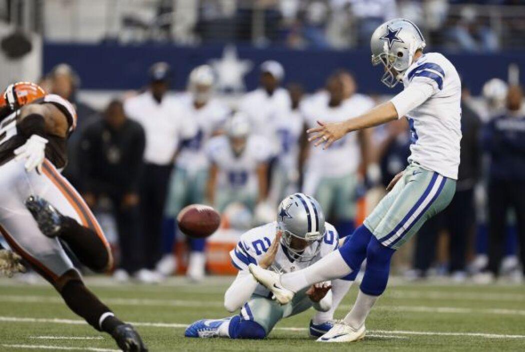 Dallas empató el partido con gol de campo de 32 yardas de Dan Bailey a s...