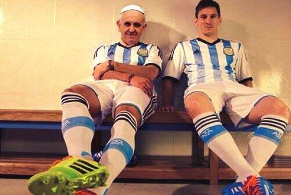 Gran compañía para Messi. Mira aquí los videos más chismosos.