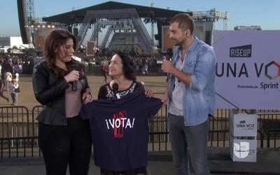 """Dolores Huerta: """"Si no votamos, no pasa nada"""""""