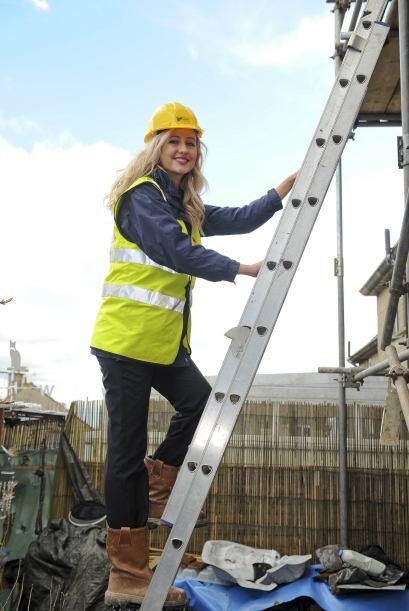 Sophie estudió Ingeniería en construcción y obras p...
