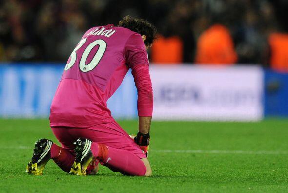 Las estampas de los integrantes del equipo francés eran de tristeza.