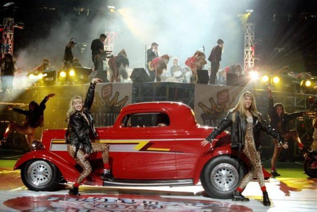 El grupo ZZ Top también estuvo en el escenario de New Orleans.