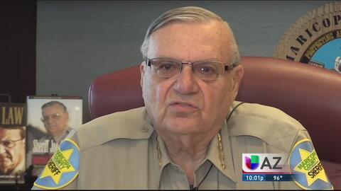 Recomiendan cargos criminales contra Joe Arpaio y la comunidad reacciona