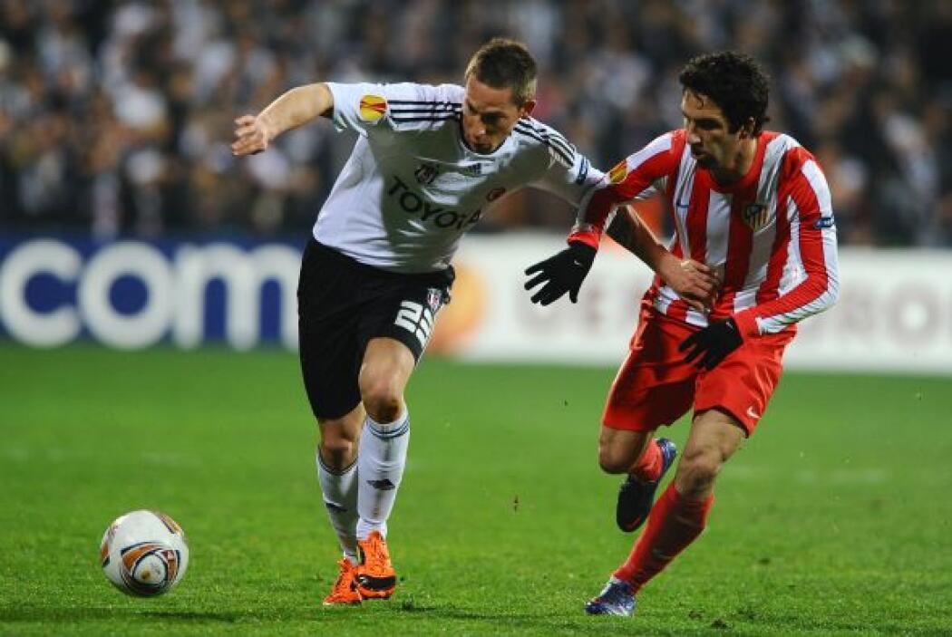 En otro partido de suma importancia, el Atlético de Madrid se metió a ca...