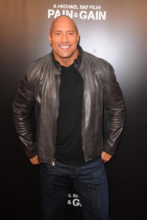 25. Dwayne Johnson  Ganancias netas: $46 millones.  Presencia en radio y...