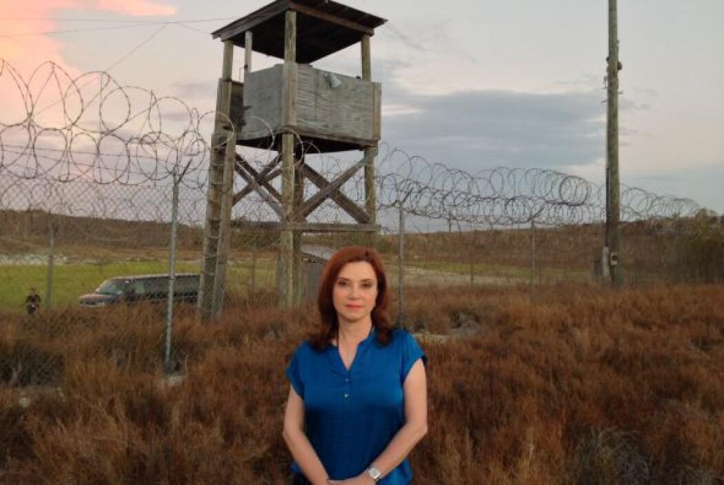 Los prisioneros están distribuidos en cuatro campos rodeados de alambrad...