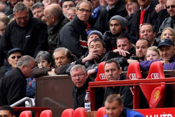 Sin embargo, el entrenador Sir Alex Ferguson y compañía no estaban tranq...