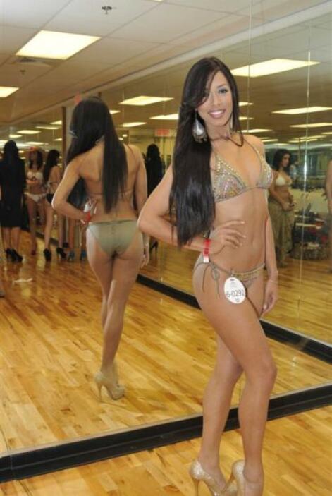 """Tras su paso por """"Nuestra Belleza Latina"""", Shalimar probó suerte como ac..."""