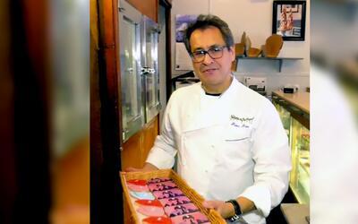 Las galletas solidarias de un chef hispano que quiere hacer una diferenc...