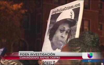 Piden justicia por la muerte de Ronald Johnson