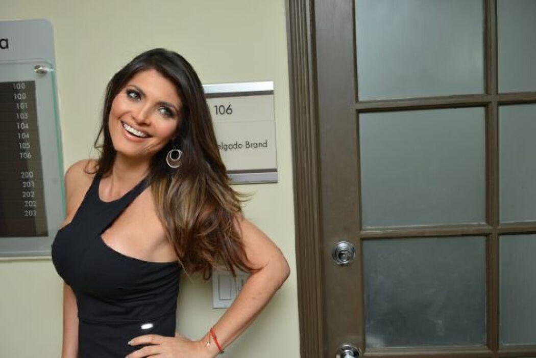 La presentadora de televisión sigue igual de madrugadora, incluso un poq...