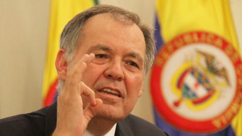 Alejandro Ordoñez fue electo procurador por el Senado en 2008 y r...
