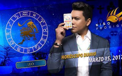Niño Prodigio - Leo 15 de marzo, 2017