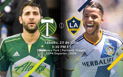 Portland Timbers vs LA Galaxy DL