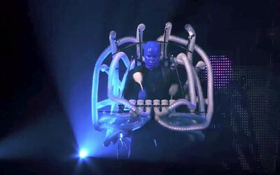 Dallas recibe a los 'Blue Man Group'