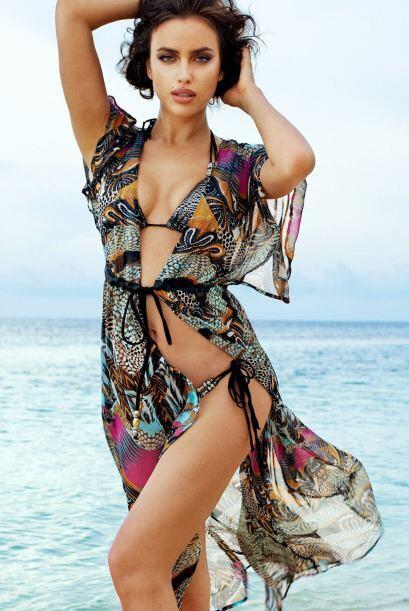 Seguramente Irina Shayk nos seguirá sorprendiendo en este 2014 co...