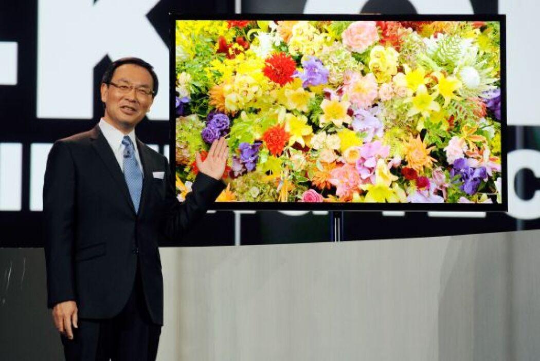 Se trata de la pantalla de mayor tamaño jamás fabricada en Ultra HD para...