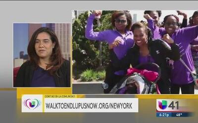 Caminata contra el lupus el 14 de mayo en Manhattan