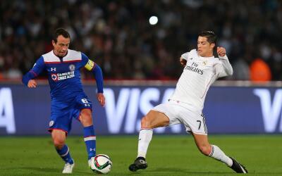 Cruz Azul cayó 4-0 con el Real Madrid en el 2014.