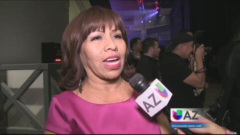 Una fanática disfrutó a Pepe Aguilar gracias a Univision Arizona