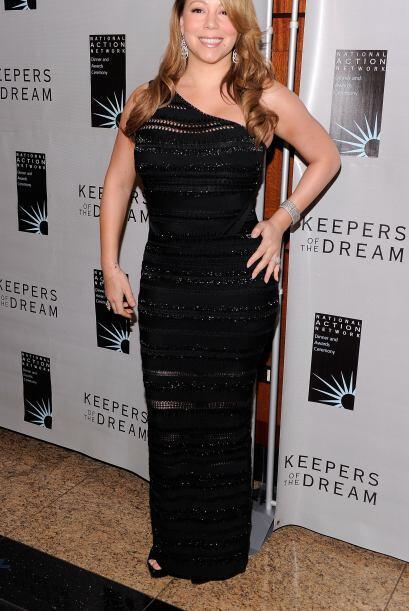 Mariah Carey reveló hace un par de años reveló que ella amaba sus curvas...