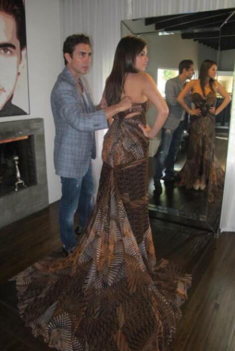 Pamela luce con toda elegancia el modelo que es otro de los favoritos de...