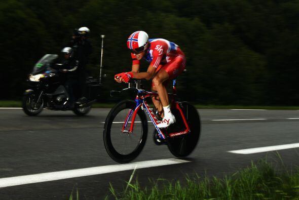 Edvald Boasson Hagen demostró su calidad en esta vigésima etapa del Tour.
