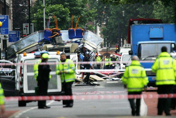 7 de julio de 2005. Cuatro explosiones colapsaron el sistema de transpor...