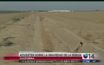 Autoridades advierten sobre la gravedad de la sequía