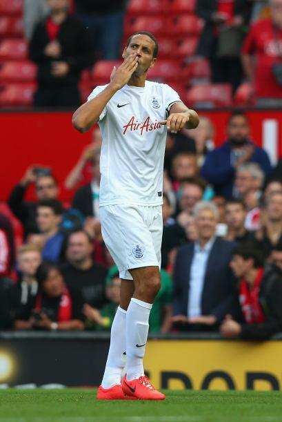 Y con el adiós de Ferdinand en su vuelta a Old Trafford el partid...