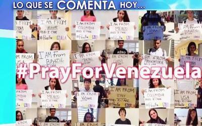 Las redes sociales han jugado un papel importante en las protestas de Ve...