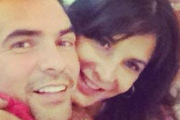 Los dos confirmaron su noviazgo y se veían muy felices.
