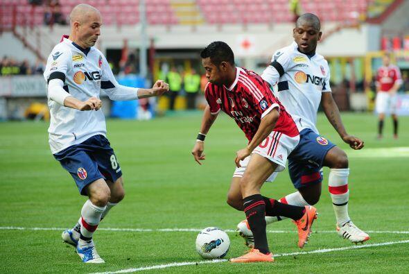 Y es que el Milan se lanzó al ataque para igualar el duelo al ins...